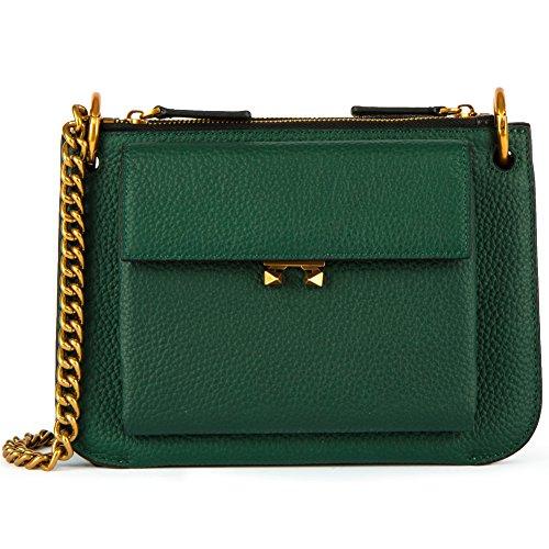 FIGESTIN Women Leather Crossbody Bags Lightweight Modern Shoulder purse wallet