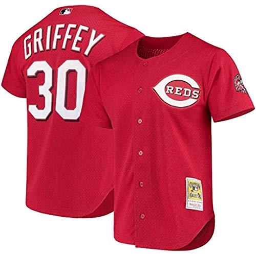 (Mitchell & Ness Ken Griffey Jr. Cincinnati Reds Men's Cooperstown Batting Practice Jersey (48/X-Large))