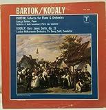 Bartok . Scherzo for Piano & Orch-Sandor: Kodaly: Hary Janos Suite- Solti Conducts London Philharmonic
