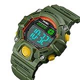 Boys Camouflage LED Sports Watch,Waterproof Digital...