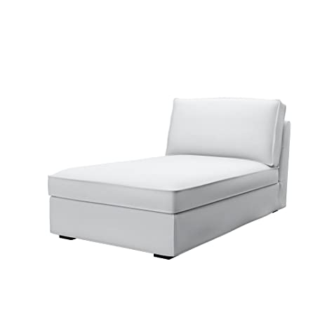 Soferia - IKEA KIVIK Funda para chaiselongue, Elegance White ...