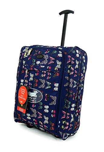 Super-ligero-Equipaje-de-mano-equipaje-de-viaje-bolsa-con-ruedas-para-carrito-de-maleta-cabina-aprobado-50-x-40-x-20-EasyJet-Ryanair
