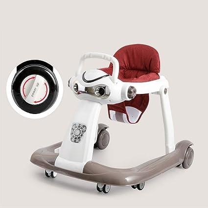 YZT QUEEN Correpasillos bebé, Robot de música multifunción ...