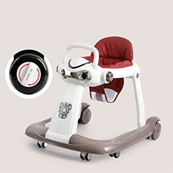 YZT QUEEN Correpasillos bebé, Robot de música multifunción Andador ...