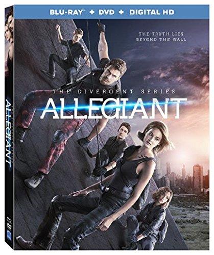The Divergent Series: Allegiant [Blu-ray + DVD + Digital HD]