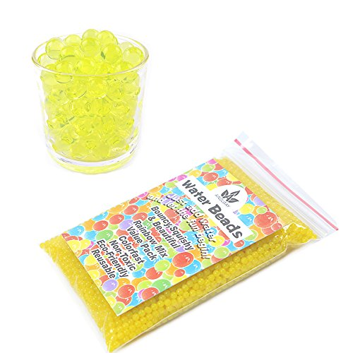 Yellow Water Beads