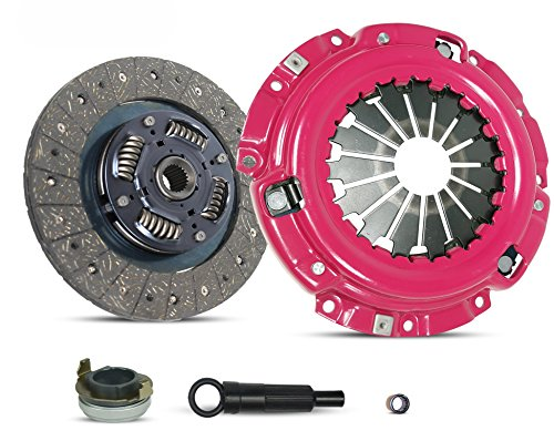 Clutch Kit Works With Ford Escape Escort Mazda Tribute Mercur Tracer Limited XLS XLT DX ZX2 SE LS GS Trio Deportivo Equi Mid Sport 1997-2004 2.0L l4 GAS DOHC Naturally Aspirated (Stage 1) ()