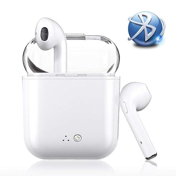 0630262533c i7 Transparent Shell Bluetooth Headsets Wireless Headsets V5.0 Headset  Bluetooth in-Ear Earphone