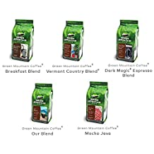 Green Mountain Variety Coffee Whole Bean Variety 12 oz each Count 5