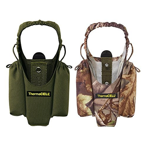 Thermacell Mosquito Repellent Appliance Holsters w/Clips Set Two Realtree Olive ()