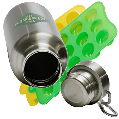 Stainless Insulated Bottle Silicone Collapsible