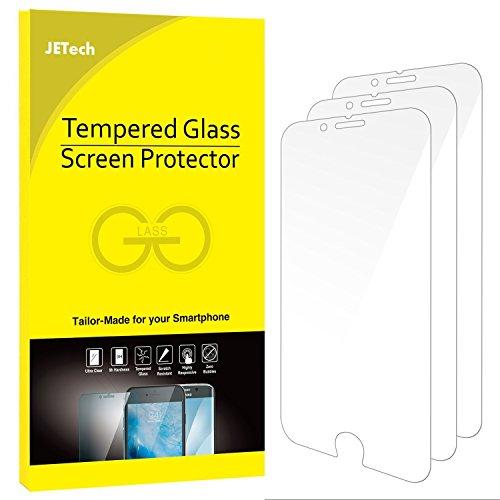 JETech Protector de Pantalla para iPhone 6s iPhone 6, Vidrio Templado, 3 Unidades