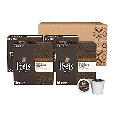 Peet's Coffee K Cups (Major Dickason's 60 Cups)