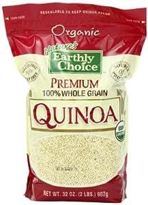 Nature's Earthly Choice Premium Organic 100% Whole Grain Quinoa, 2 Pound
