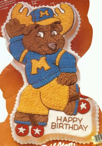 Wilton Montgomery Moose Good News   Roller Skate   Cake Pan  2105 1968  1985  Get Along Gang