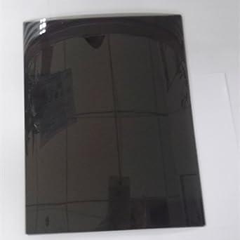 Hoja de Polarización Lineal de 90 Grados A4 Hoja 11.8 * 7.8 pulgadas Polarizador No Adhesivo Física Educacional Filtro Polarizado -2pcs