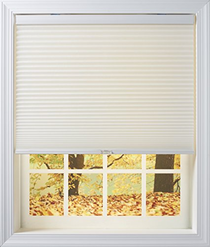 New Age Blinds 4818.75NAWFILFCOT Light Filtering Inside Mount Cordless Cellular Shade, Cotton, 18-3/4 x 48-Inch