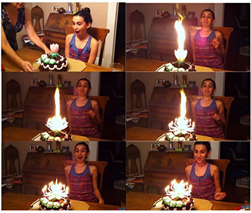 BdayCandle Magical Happy Birthday Candle Sparkling Singing Cake