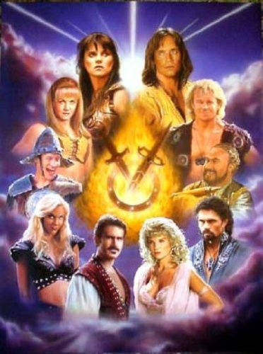 xena-warrior-princess-hercules-the-legendary-journeys-age-of-heroes-lithograph-by-keith-paul-27-x-38