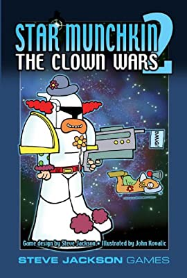 Star Munchkin 2-The Clown Wars