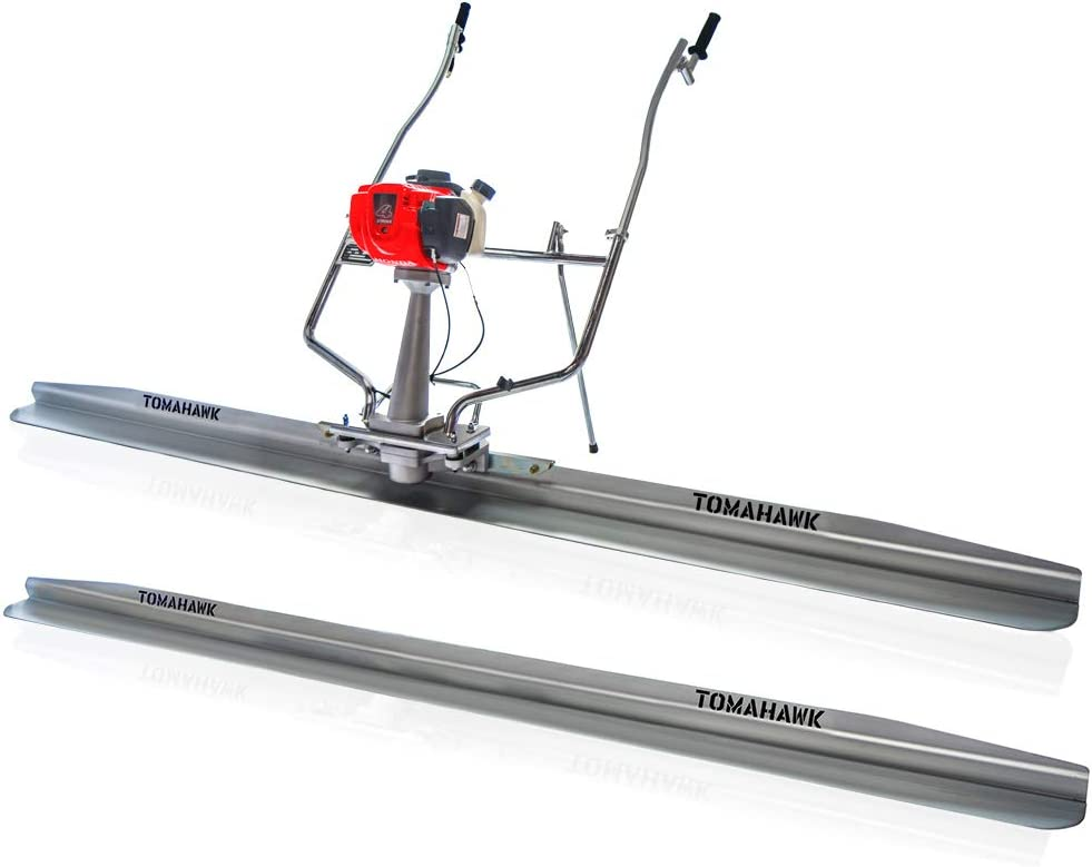 Power Screed Concrete Finishing Tool with 10 ft /& 8 ft Blades Bull Float Honda GX35