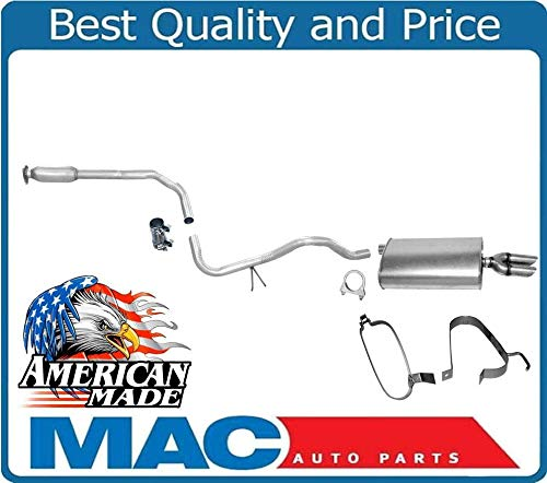 - Exhaust Pipe System MADE IN USA for Chevrolet Cavalier Dual Tip Muffler 99-04