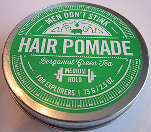 (Walton Wood Farm - Men Don't Stink Hair Pomade Bergamot Green Tea Medium Hold)