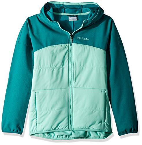Columbia Girls' Take a Hike Softshell, Waterproof and Breathable Columbia Fleece Windproof Jacket