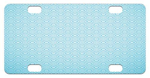 Retro Aqua Squares - 4