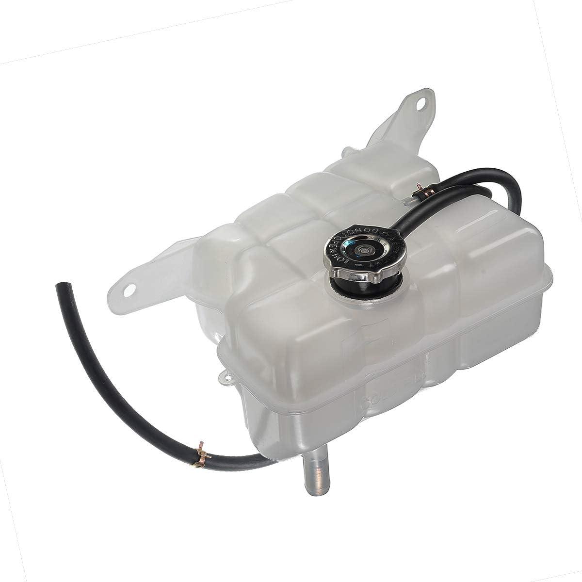 A-Premium Coolant Expansion Tank Compatible with Jeep KJ Liberty 2002-2007 Front