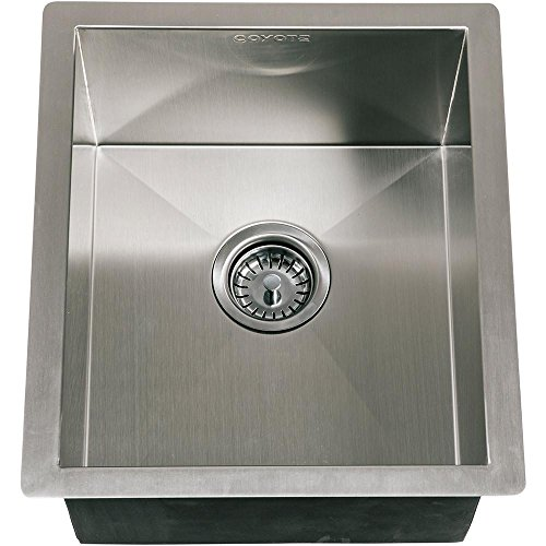 Coyote 16 X 18 Outdoor Rated Drop In Stainless Steel Sink With Drain Plug - C1sink1618 by Coyote
