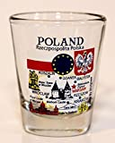 Poland EU Series Landmarks and Icons Shot Glass