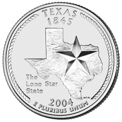 2004-D Texas BU State Quarter (Bu State Quarter Collection)