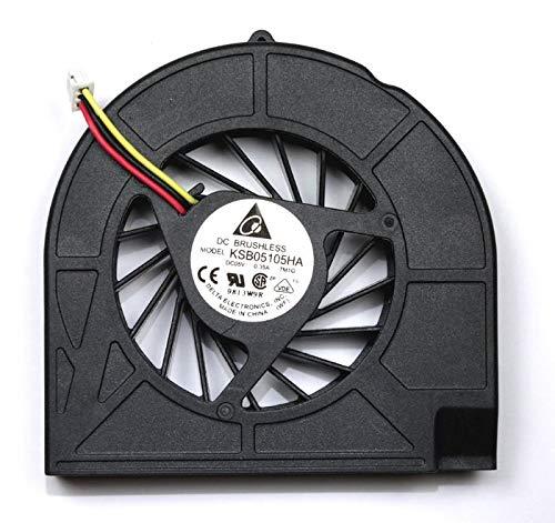 Nerd Herd Compaq Presario CQ50-104CA CQ50-104NR CQ50-105AU CQ50-105EE CQ50-105EF CQ50-105EL CQ50-105EM CQ50-105ER CQ50-105EW Laptop Fan 2 Mounting Screw Version for AMD Processors