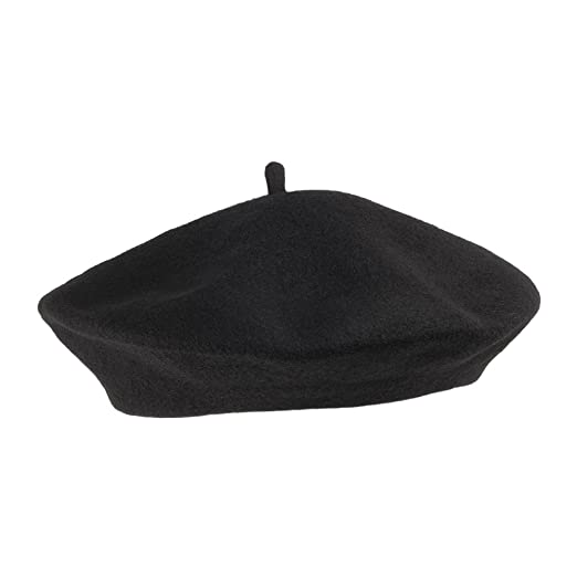 Amazon.com  Village Hat Shop Wool Fashion Beret (1-Size 19efa354c22