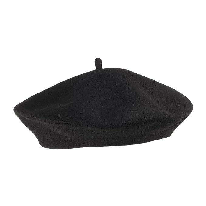 a9079fc7f10 Amazon.com  Village Hat Shop Wool Fashion Beret (1-Size