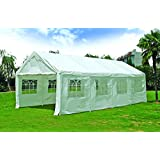 Quictent 13'x26' Heavy Duty Outdoor Gazebo Party Wedding Tent Canopy Carport Shelter with Sidewalls