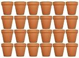 terracotta flower pots - Set of 24 The Archway Lawn & Garden Mini Flower Pots - 2.5