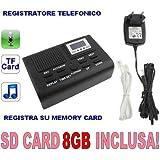 CW51 - GRABADORA PARA TELEFONO DIGITAL (incluye tarjeta SD de 8GB)