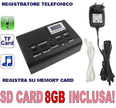 registratore spia per telefono fisso