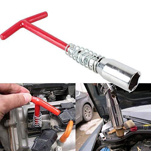 LUBAN T-Type Spark Plug Wrench Universal Spark Plug Tool Socket (pack of 1)