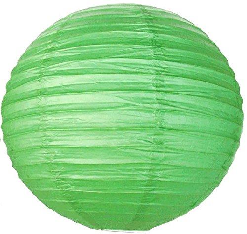 Just-Artifacts-18-Green-ChineseJapanese-Paper-LanternLamp-18-Diameter-Just-Artifacts-Brand