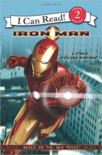 Iron Man: I Am Iron Man! (I Can Read Book 2)