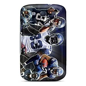 Shock-Absorbing Hard Phone Covers For Samsung Galaxy S3 With Support Your Personal Customized High-definition Seattle Seahawks Series JoanneOickle