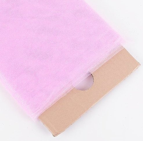 (54 in X 20 Yards - Glitter Sparkle Pink Tulle (Great for Weddings, Sewing, Craft Projects, Decorations & More) 20 Yards)