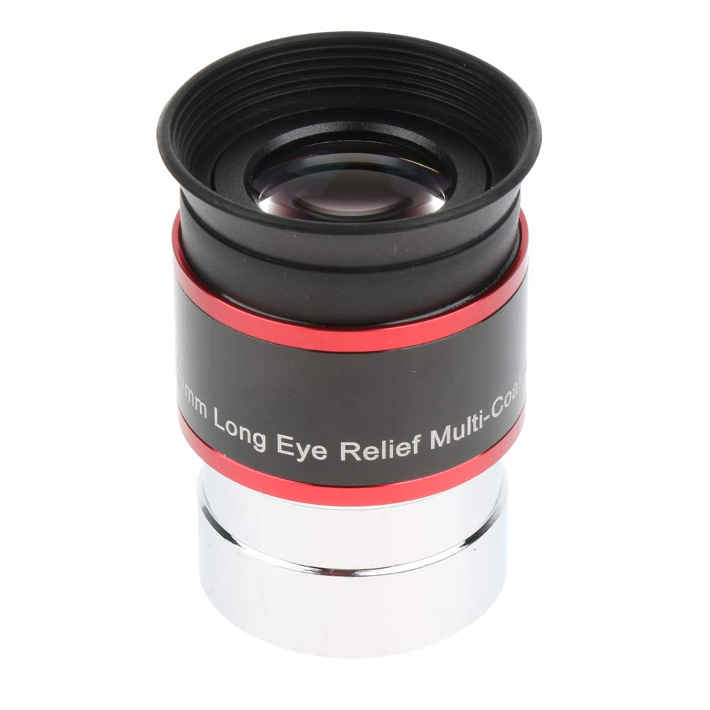 Homyl Telescope Eyepiece Lens for Celestron Orion 1.25'/31.7mm 68 Degree Field of View Extra Sharpness 15mm