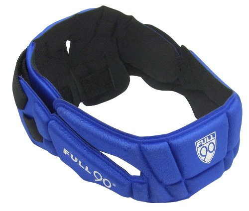 Performance Head - Full 90 Sports PREMIER Performance Soccer Headgear, Royal, Small/Medium