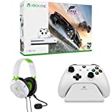 Xbox One S 1TB Console - Forza Horizon 3 Bundle + Turtle Beach Recon 50X White Stereo Gaming Headset + Controller Gear White Controller Stand v2.0