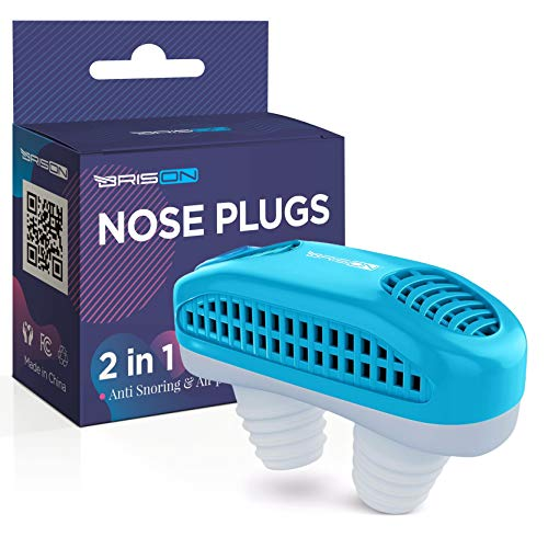 Anti snoring Devices - Nose Vents Plugs - Stop Snore Mute Nasal Dilators Sleep Aid Clip Device Solution for Comfortable Good Sleep Man and Women
