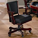 Coaster Home Furnishings 100202 Casual Game Chair, Oak